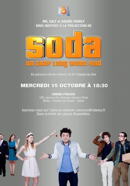 Soda: Un Trop Long Week-end (2014)